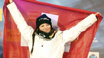Gold und zweimal Bronze für die Schweizer Ski-Freestyler in der Halfpipe