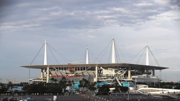 Der Super Bowl 54 findet im Hard Rock Stadium in Miami statt.