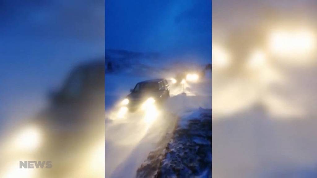 200 Personen wegen Föhnsturm über Nacht im Berg-Restaurant festgesessen