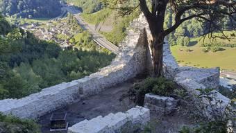 Mehr als nur einer der schönsten Grillplätze im Kanton: die Ruine Witwald.