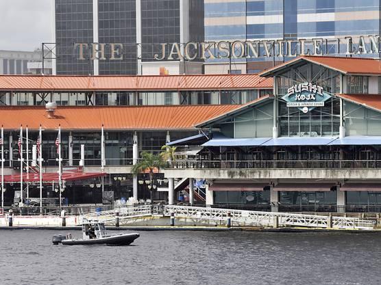 Der Ort des Geschehens: Im Einkaufs- und Vergnügungszentrum «The Landing» am Fluss St. Johns in Jacksonville kam es zur tödlichen Schiesserei.