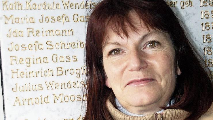 Als Gemeinderätin war Kathrin Hasler 2004 auch für die Dorfchronik zuständig.