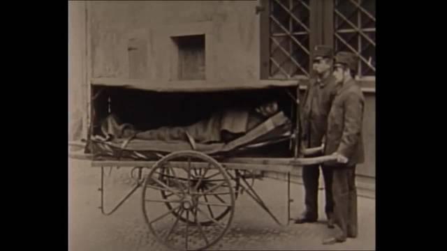 Aufnahmen von Sanität Zürich zwischen 1930 und 1945