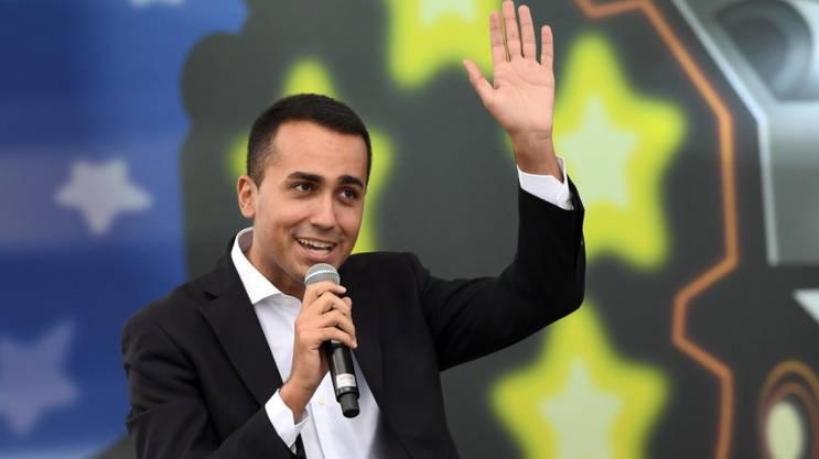 Der Chef der Fünf-Sterne-Bewegung, Luigi Di Maio, fordert Neuwahlen.