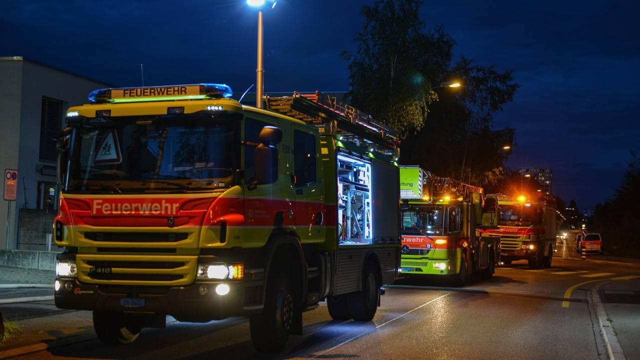 Zürich: 700 Feuerwehreinsätze wegen Gewitter