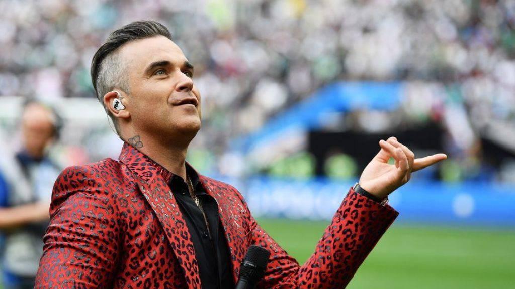 Robbie Williams schwärmt vom deutschen Nationalteam