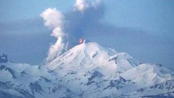 Immer für einen Ausbruch gut: Vulkan Pavlof in Alaska (Archiv)