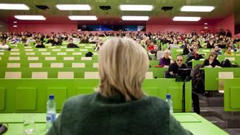 Ein Hörsaal der Universität Zürich.