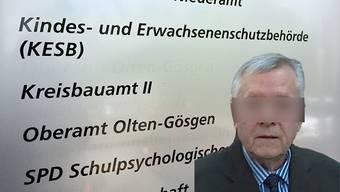 Andres Z. und die KESB: Die Vorgehensweise der KESB im Falle des St.-Ursen-Brandstifters wird von der Solothurner Regierung verteidigt.