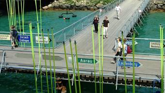 Mit einer Landesausstellung im Aargau könnte man an das «Ausfahrt Aargau»-Motto der 3-Seen-Expo von 2001 anknüpfen. (Archiv)