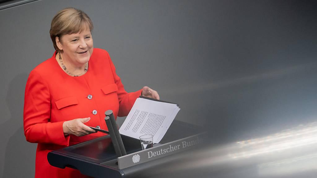 Stärker, geeinter: Merkel will Europa aus der Corona-Krise führen