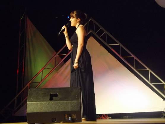 Melinda Brogle errang mit einem Song von den Beatles den dritten Platz