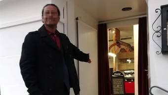 Kinderschänder William W. betrieb in Olten ein Restaurant, in dessen Räumen er kürzlich wieder einen Knaben berührt haben soll.