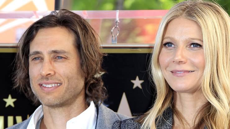 Er heiratete ihre Familie quasi mit - inklusive Ex-Mann Chris Martin: Brad Falchuk und Gwyneth Paltrow. (Archivbild)