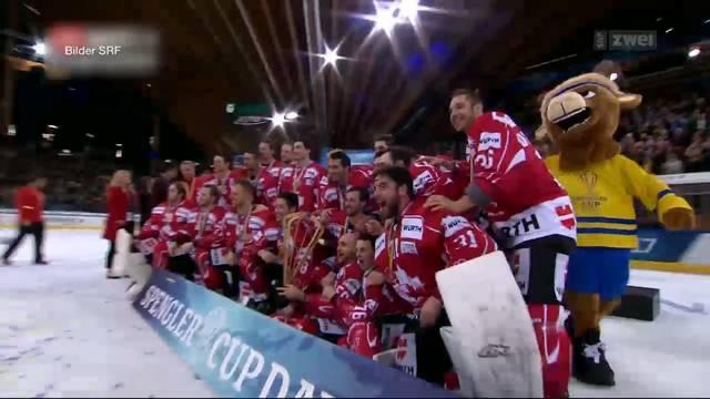 Schweizer Niederlage beim Spengler Cup