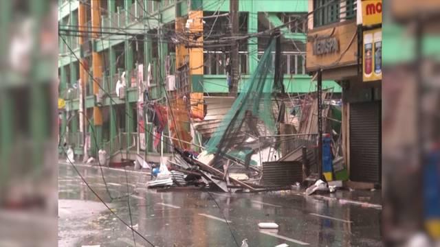 Super-Taifun «Mangkhut» wütet auf den Philippinen