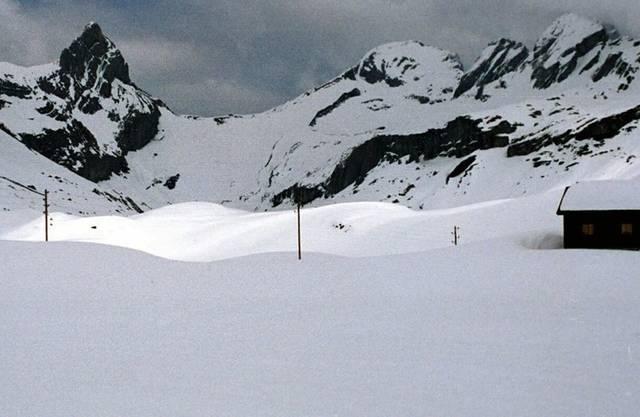 Die Glattalp ist der bisher kälteste Ort in diesem Winter (Archiv)