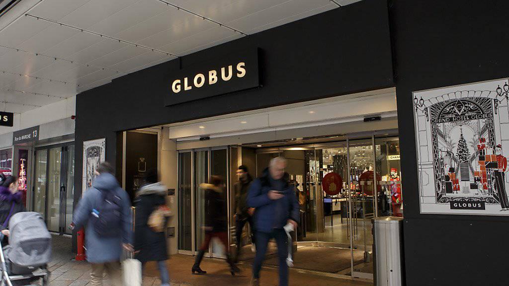 Globus ist zufrieden mit dem Weihnachtsgeschäft: Genfer Filiale am 20. Dezember.