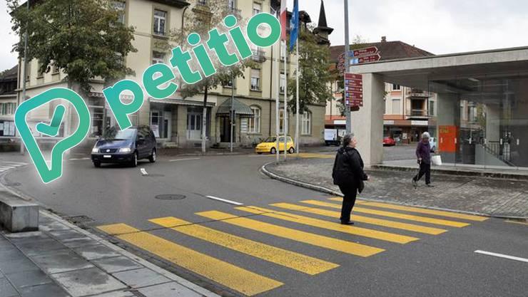 Die Zukunft der Liegenschaft «Alte Post» und des dahinter liegenden Areals sind derzeit ein grosses Gesprächsthema in der Stadt – und Gegenstand einer Petition.