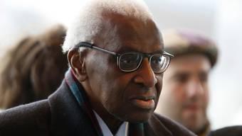 Lamine Diack ist von einem Gericht in Paris zu einer vierjährigen Haftstrafe verurteilt worden (Archiv)