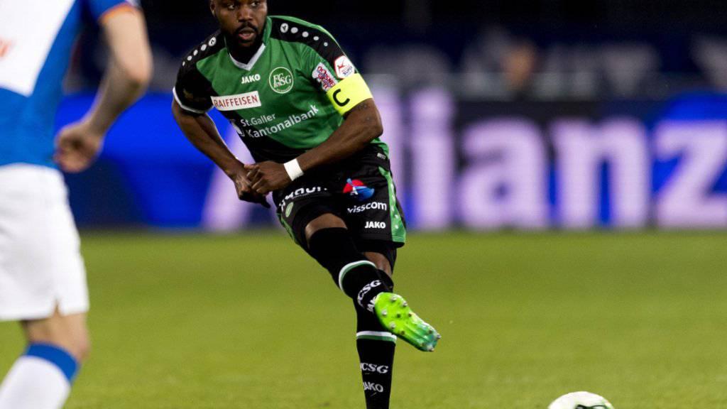 St. Gallens Nzuzi Toko fällt wegen einer Knieverletzung bis Anfang Oktober aus