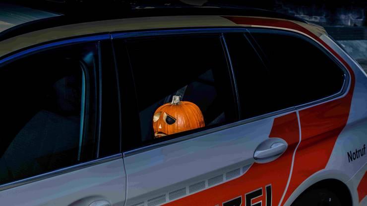 Halloween war coronabedingt eher eine triste Angelegenheit.