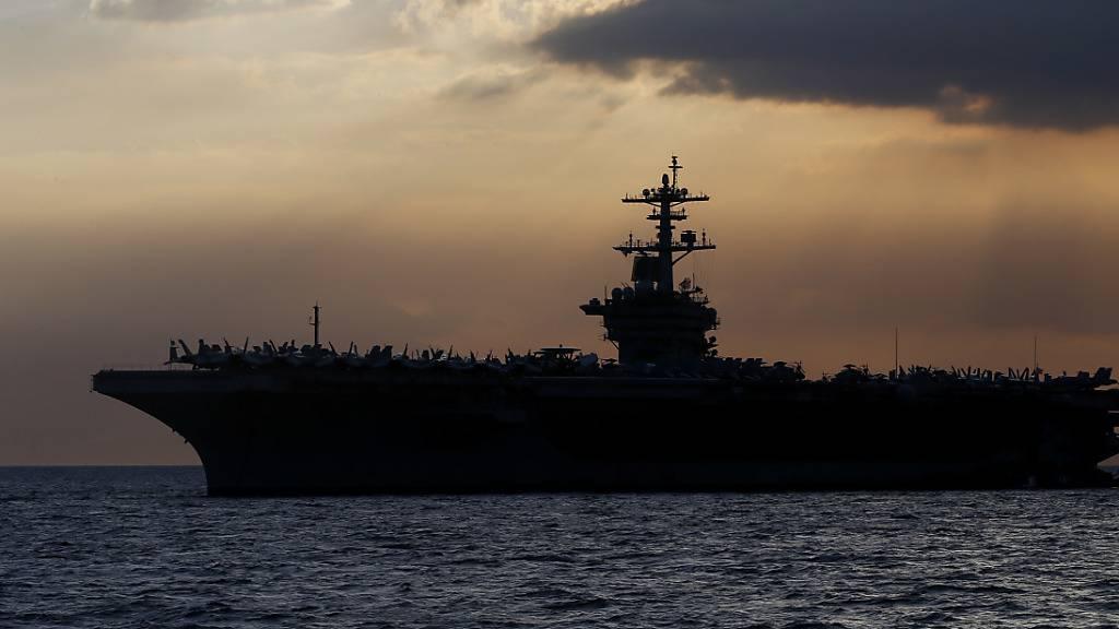 Kapitän von US-Flugzeugträger mit Corona-Fällen gefeuert