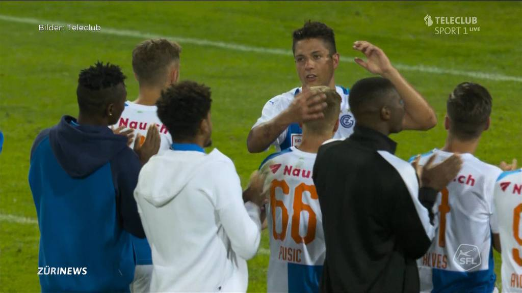 2:1 gegen Aarau: GC bleibt ungeschlagen