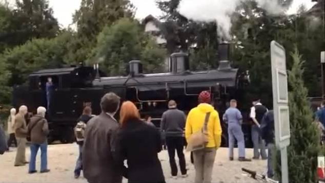 Letzter Dampftag: Fahrt mit der Dampflokomotive von Büren nach Solothurn
