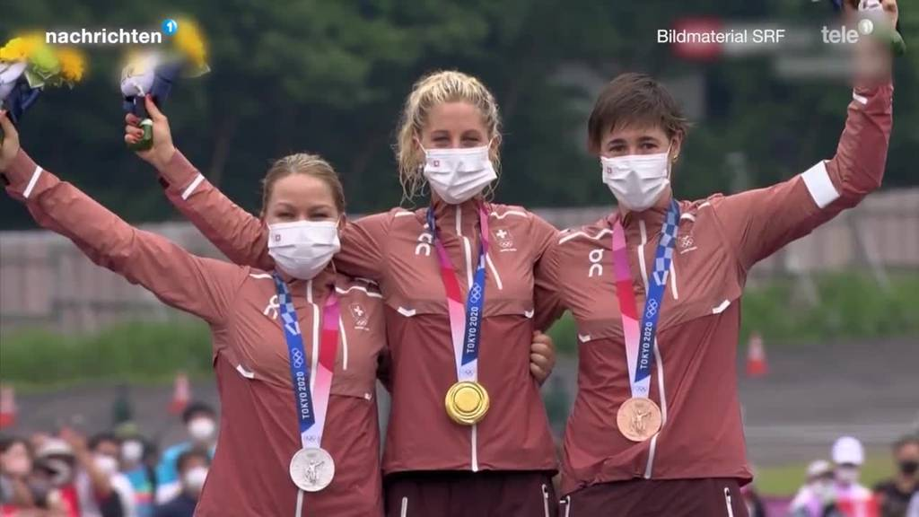 Frauen räumen bei Olympia ab