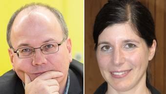 Wollen in den grossen Rat: Alt-Nationalrat Max Chopard und ehemalige Grossrätin Simona Brizzi.