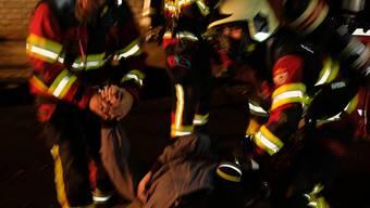 Feuerwehr-Alarmübung Bergdietikon 02.11.2018