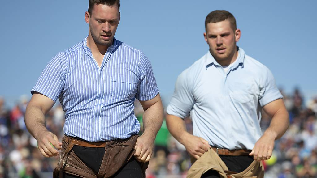 Kilian Wenger (links) und Remo Käser - zwei böse Berner