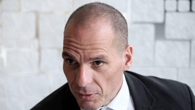 Der ehemalige griechische Finanzminister Yanis Varoufakis im Interview. Foto: Mario Heller