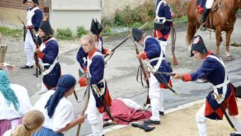 «Anno 1798 – Die Franzosen kommen» steht kurz vor der Premiere.