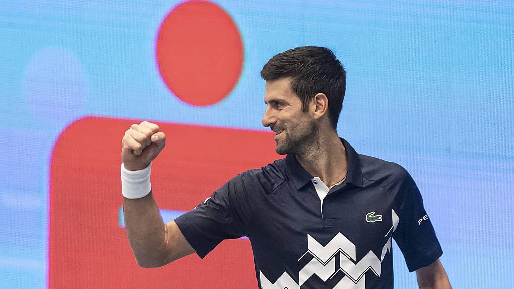 Djokovic zum 6. Mal Nummer 1 eines Jahres