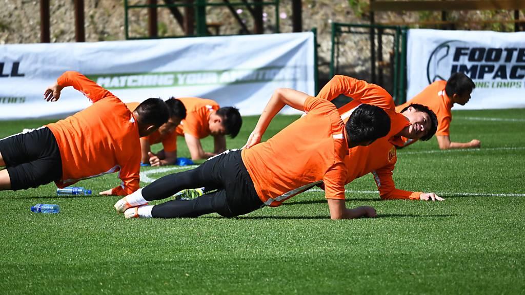 Spieler von Wuhan wieder in Wuhan