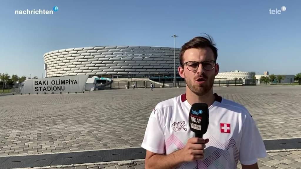 Unser Reporter an der Fussball-EM