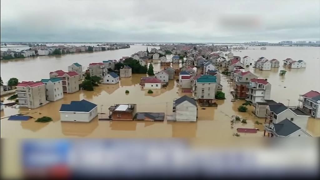 China meldet über 141 Tote und Vermisste bei Überschwemmungen