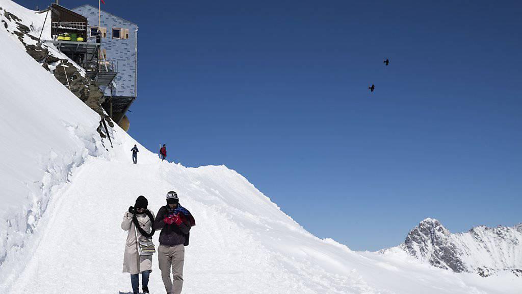 Die Tourismus-Destination Schweiz ist besser ins Jahr gestartet als Österreich. (Archiv)