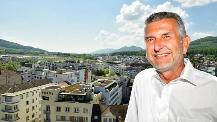Adrian Balz sagt: «Ich bin sehr mit der Stadt verbunden». Er war Obernaar, spielte Handball und besuchte fast immer die Parlamentssitzungen.
