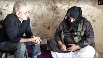 Jürgen Todenhöfer in seinem jüngsten Interview aus Syrien.