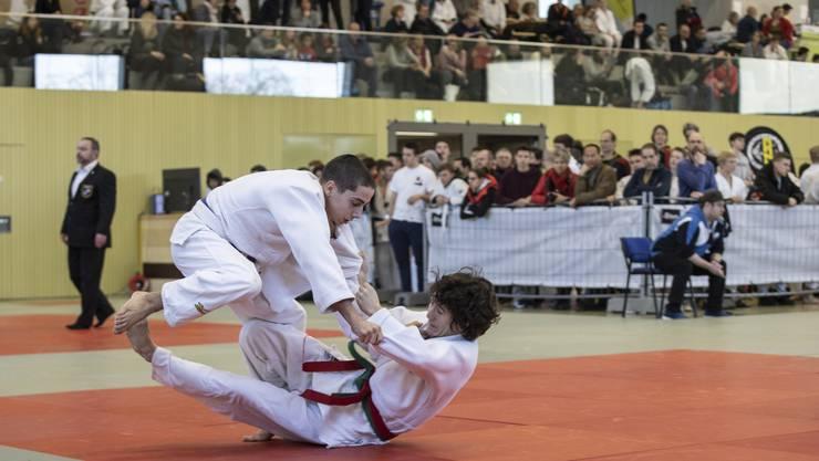 Das Ranking-500-Turnier in Oensingen ist mittlerweile der viertgrösste Judo-Wettkampf in der Schweiz.