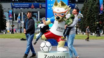Die Russen freuen sich auf den WM-Start und wollen als freundliche Gastgeber in Erinnerung bleiben.