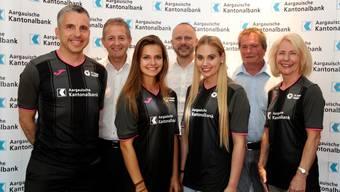 Die FC Aarau Frauen können sich über einen neuen Hauptsponsor freuen.