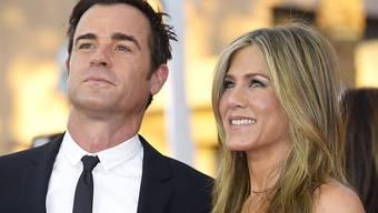Jennifer Aniston und Justin Theroux haben ihre Gäste überrascht (Archiv)