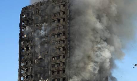 Zivilklage in den USA wegen Brand im Londoner Grenfell Tower