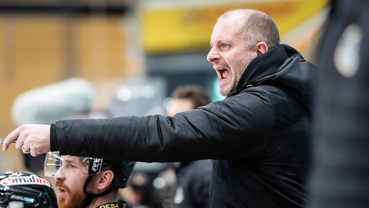 Luganos Interimstrainer und Sportdirektor präsentiert am Samstag den neuen Coach des HC Lugano für die Zeit ab Weihnachten