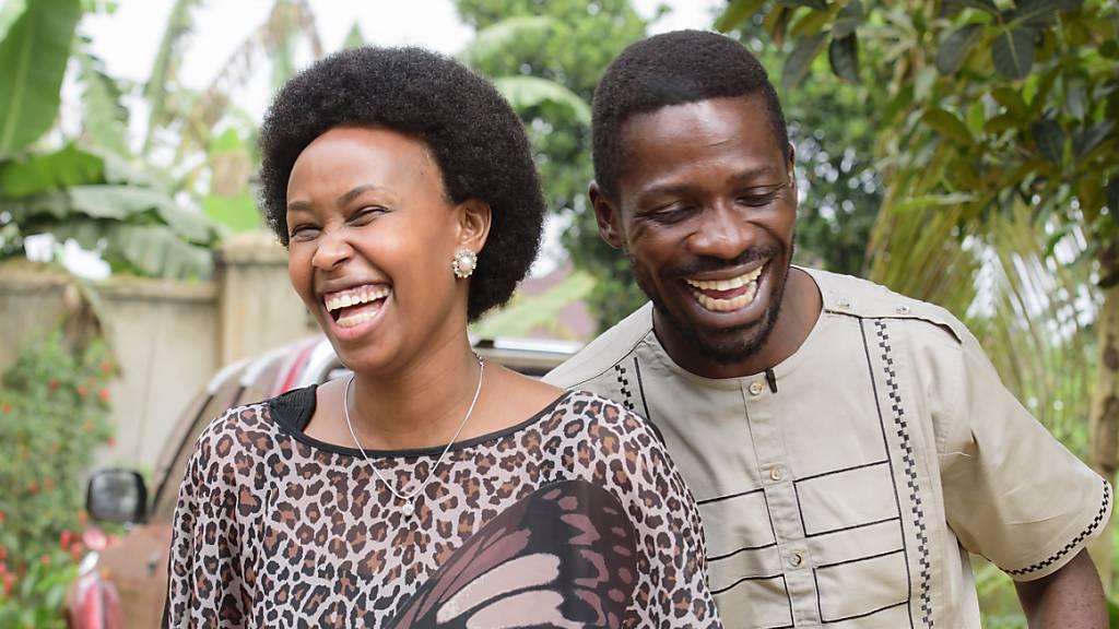 Wahl in Uganda: Popstar fordert Langzeit-Präsidenten heraus
