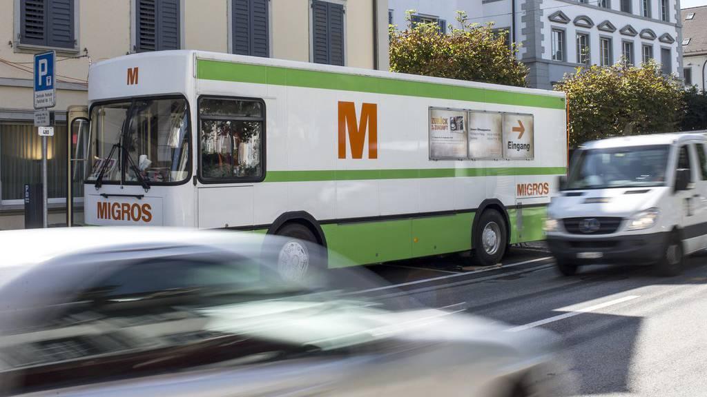 In den nächsten Wochen rollt der Migros-Bus durch die Ostschweiz